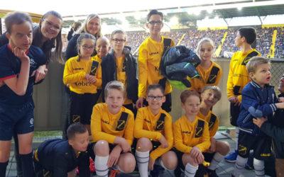 Feest bij NAC Breda, voor gehandicapte kinderen