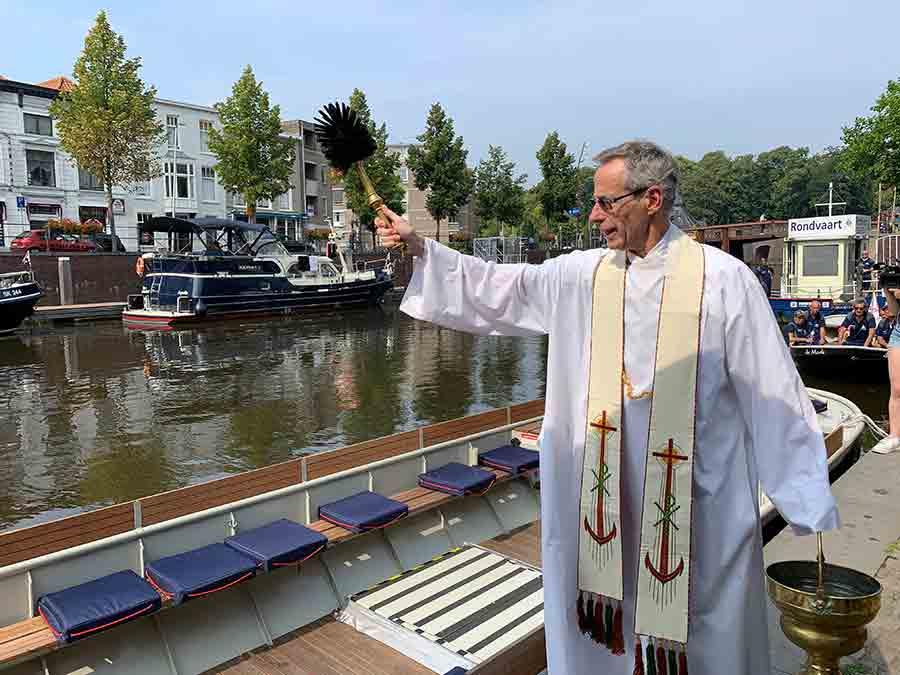 Toegankelijk Breda gezegend met rolstoelvriendelijke boot